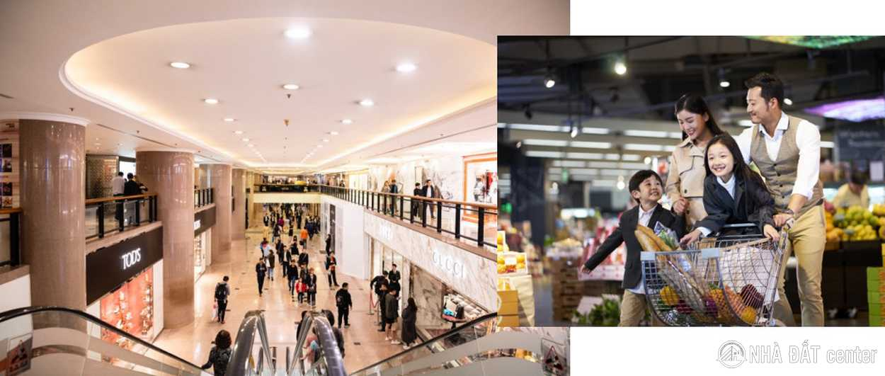 trung tam thuong mai Central Mall 2500m2